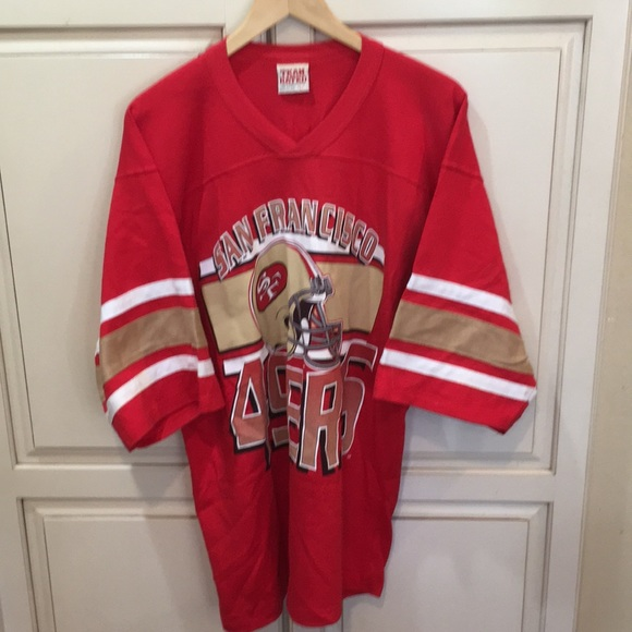 finest selection 34a88 c9cb1 Vintage 80s 90s San Francisco 49ers shirt